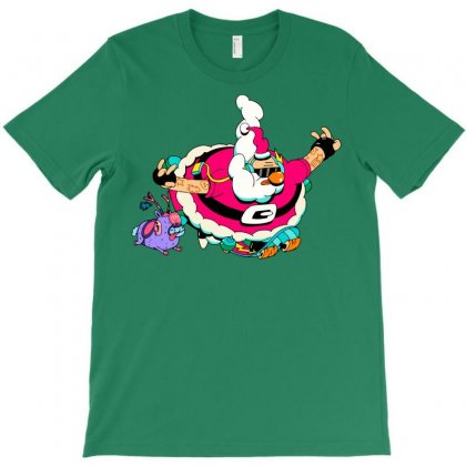 Santa Skate T-shirt Designed By Jokers