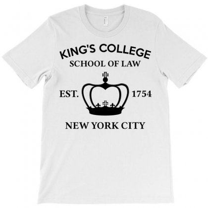 Hamilton Broadway Musical King's College School Of Law Est. 1754 Greatest City In The World Aaron Burr T-shirt Designed By Designbysebastian
