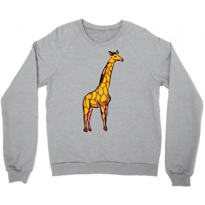 Giraffe Crewneck Sweatshirt Designed By Killakam