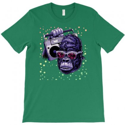 Funky Kingkong T-shirt Designed By Gematees