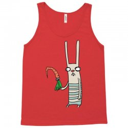 funny rabbit bunny holding a carrot Tank Top | Artistshot