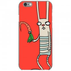 funny rabbit bunny holding a carrot iPhone 6/6s Case | Artistshot
