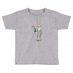 funny rabbit bunny holding a carrot Toddler T-shirt | Artistshot