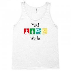 yes work science Tank Top | Artistshot