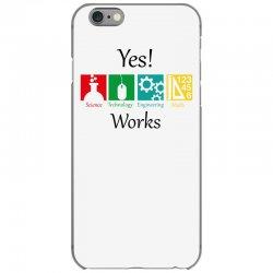 yes work science iPhone 6/6s Case | Artistshot