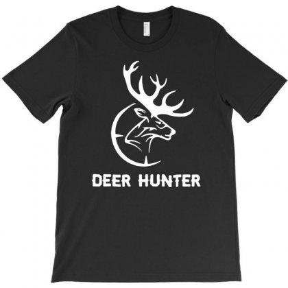 Deer Hunter T-shirt Designed By Tonyhaddearts