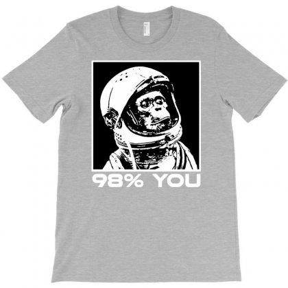 Funny Monkey Astronomy T-shirt Designed By Tonyhaddearts