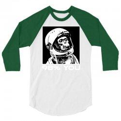 funny monkey astronomy 3/4 Sleeve Shirt | Artistshot
