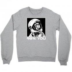 funny monkey astronomy Crewneck Sweatshirt | Artistshot