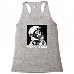 funny monkey astronomy Racerback Tank | Artistshot