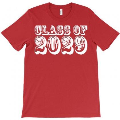 Class Of 2029 T-shirt Designed By Designbysebastian