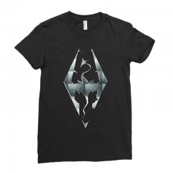 Skyrim Ladies Fitted T-Shirt | Artistshot
