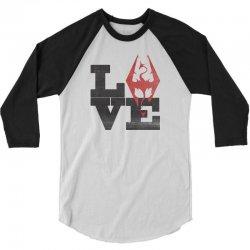 Love Skyrim 3/4 Sleeve Shirt | Artistshot