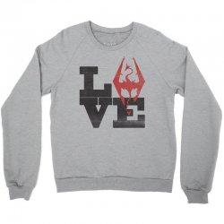 Love Skyrim Crewneck Sweatshirt | Artistshot