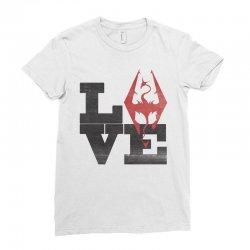 Love Skyrim Ladies Fitted T-Shirt | Artistshot