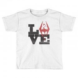 Love Skyrim Toddler T-shirt | Artistshot