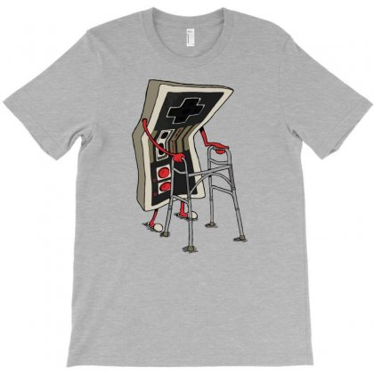 Old Gamer T-shirt Designed By Gematees