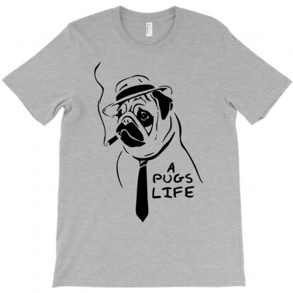 It's A Pugs Life T-shirt Designed By Tonyhaddearts
