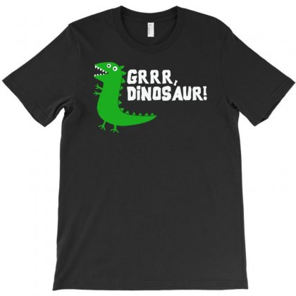 Grrr Mr Dinosaur T-shirt Designed By Tonyhaddearts