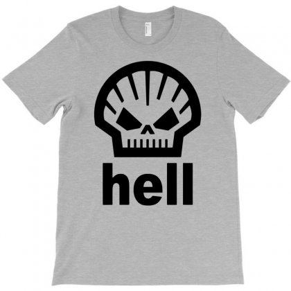 Hell T Shirt, T-shirt Designed By Tonyhaddearts