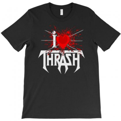 Thrash Retro Testament Tribute T-shirt Designed By Tonyhaddearts