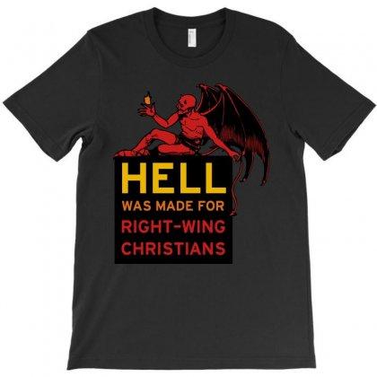 Hell T-shirt Designed By Godlovesabortion