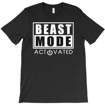Beast Mode Bodybuilding T-shirt Designed By Gematees