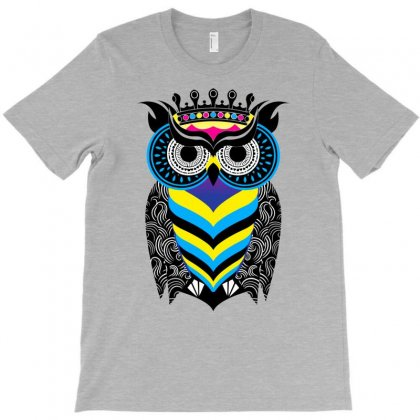 Owlfun T-shirt Designed By Gematees