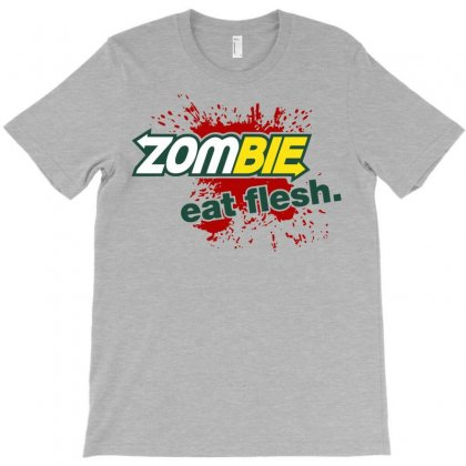 Zombi Flesh T-shirt Designed By Gematees