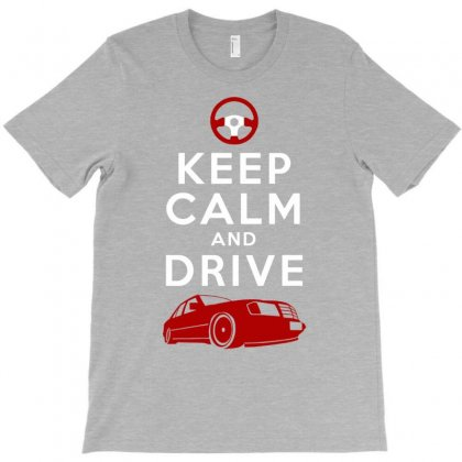 Keep Calm And Drive A Mercy T-shirt Designed By Gematees
