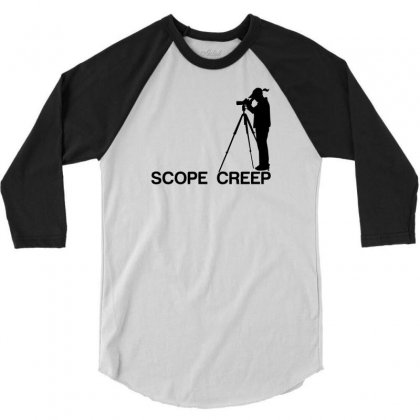 Scope Creep 3/4 Sleeve Shirt Designed By Designbysebastian