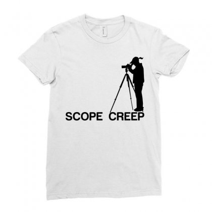 Scope Creep Ladies Fitted T-shirt Designed By Designbysebastian