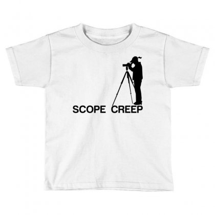 Scope Creep Toddler T-shirt Designed By Designbysebastian