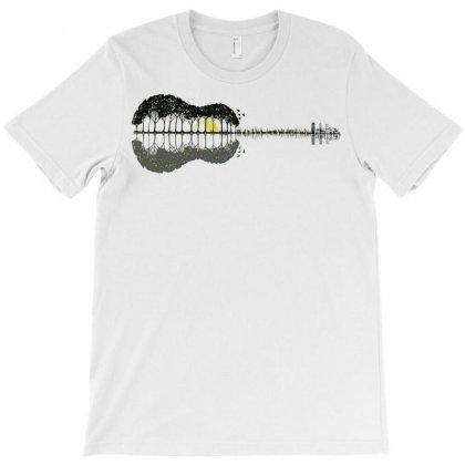 Guitar Town T-shirt Designed By Mdk Art