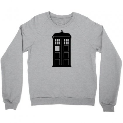 Tardis Crewneck Sweatshirt Designed By Killakam