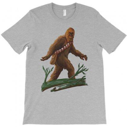 Bigfoot T-shirt Designed By Tonyhaddearts