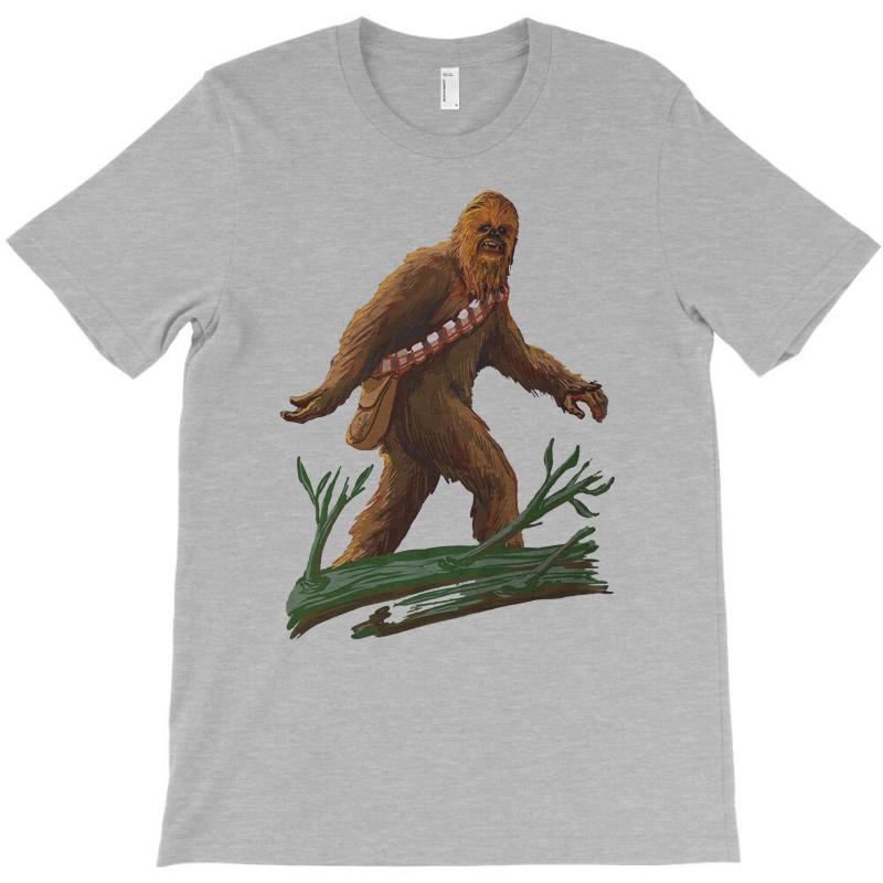 e77759723c40 Custom Bigfoot T Shirt By Tonyhaddearts Artistshot