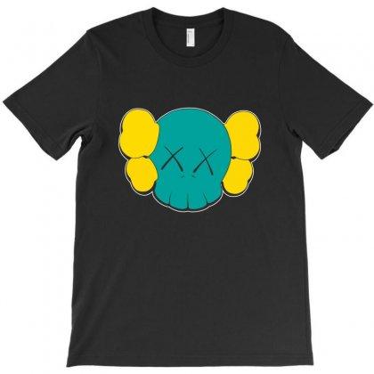 Kaws Head T-shirt Designed By Nickysu   Artistshot