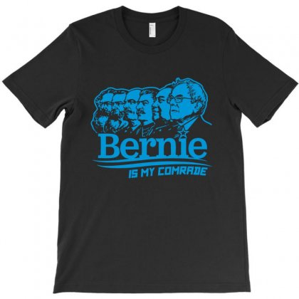 Bernie Is My Comrade T-shirt Designed By Vartdater