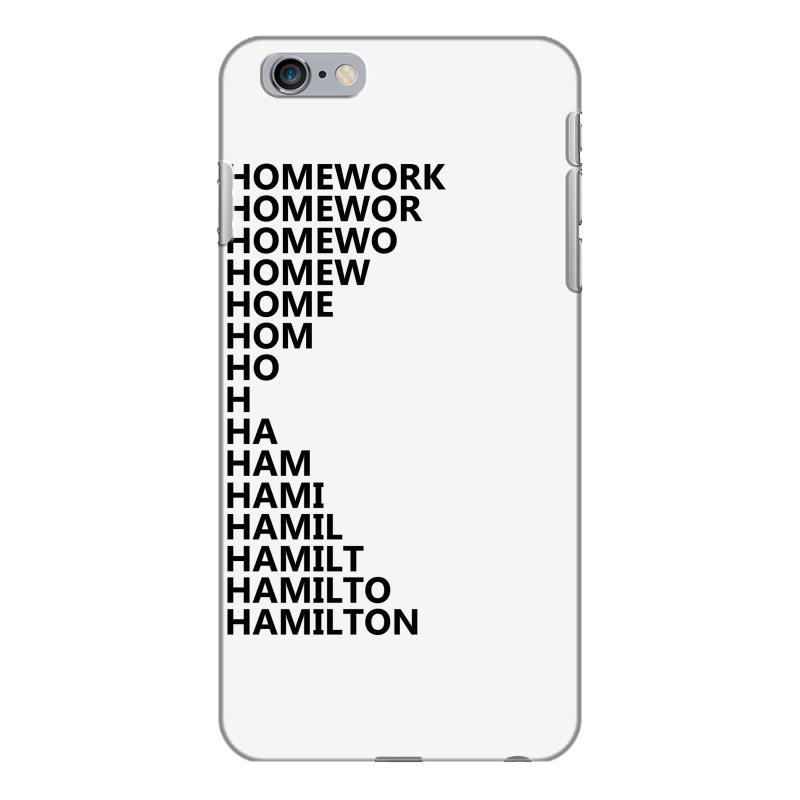 quality design 38d40 d2244 Hamilton Homework Iphone 6 Plus/6s Plus Case. By Artistshot