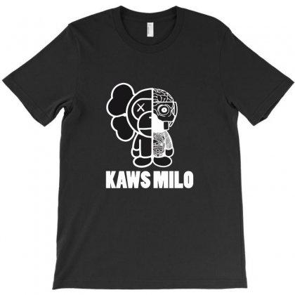 Baby Milo X Kaws T-shirt Designed By Kamen
