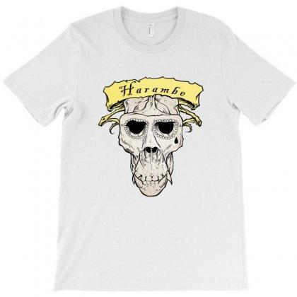 Harambe Skull T-shirt Designed By Kamen