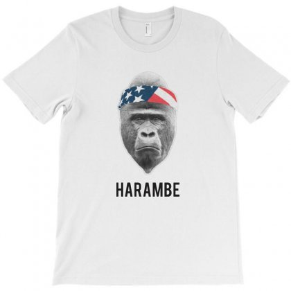 Harambe For America T-shirt Designed By Kamen