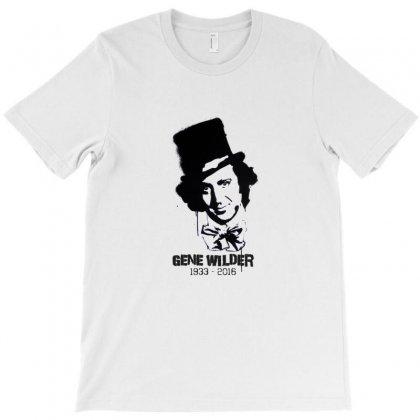 Gene Wilder Stencil T-shirt Designed By Kamen