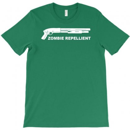 Zombie Repllent T-shirt Designed By Gematees