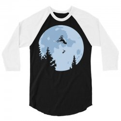 funny et moon bmx 3/4 Sleeve Shirt | Artistshot