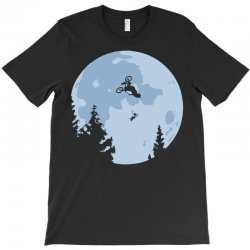 funny et moon bmx T-Shirt | Artistshot