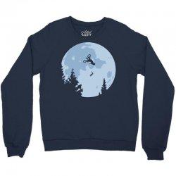 funny et moon bmx Crewneck Sweatshirt | Artistshot