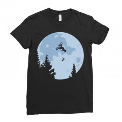 funny et moon bmx Ladies Fitted T-Shirt | Artistshot