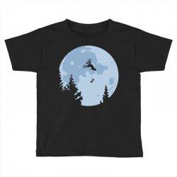 funny et moon bmx Toddler T-shirt | Artistshot